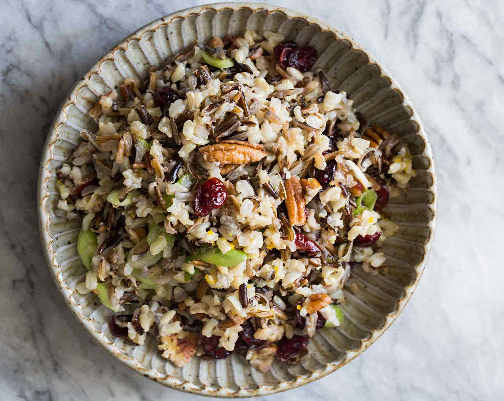 Asian Brown Rice Salad