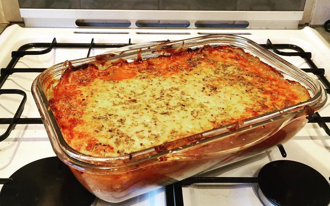 Yum Scrum Comforting Healthy Lasagne – no pasta